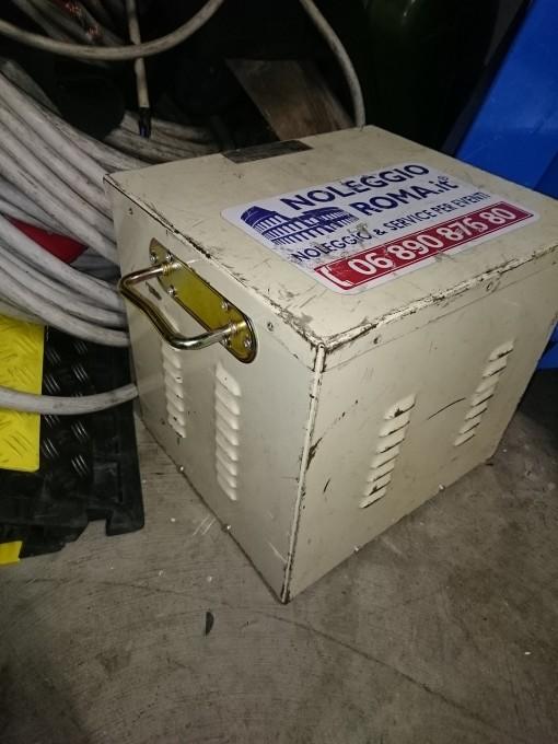 Autotrasformatore 15KVA