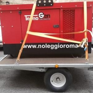 noleggio generatore 20kw foto