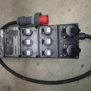 Quadro mennekes 380V 63A